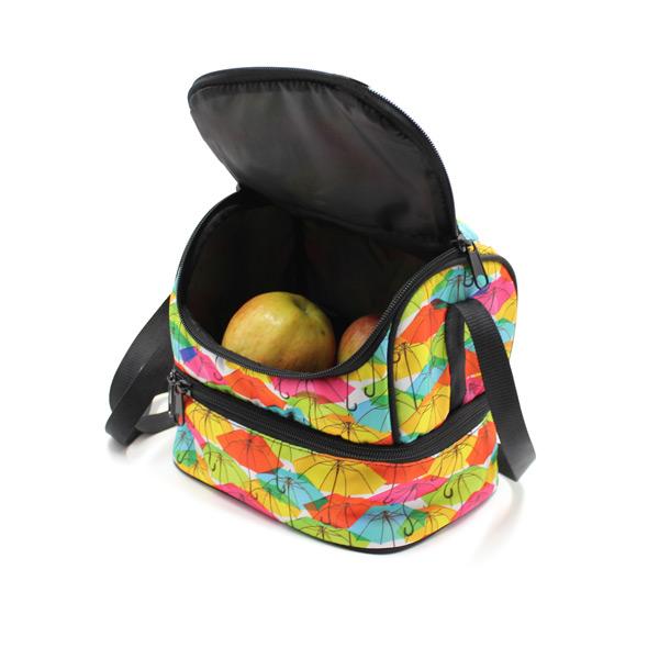 сумка для еды и обеда lunch bag внутри