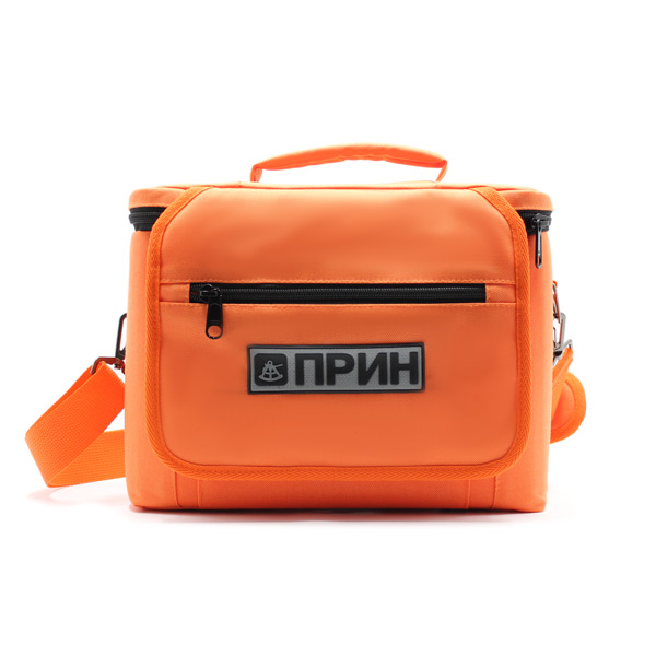 сумка для оборудования в поездку оранжевая спереди