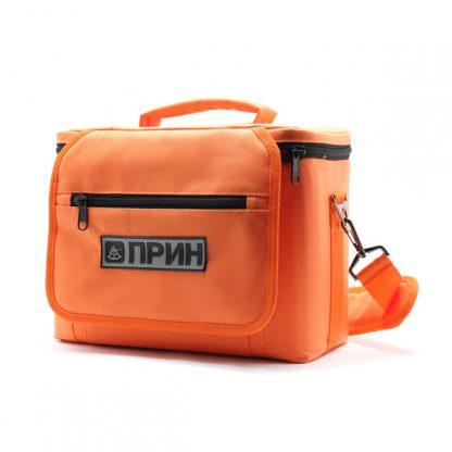 сумка для оборудования в поездку оранжевая сбоку
