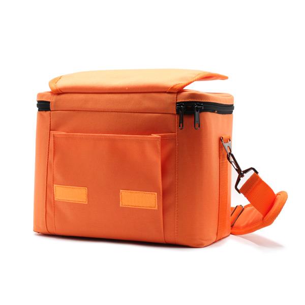 сумка для оборудования в поездку оранжевая карман