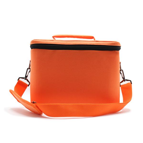 сумка для оборудования в поездку оранжевая сзади