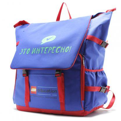 большой рюкзак для переноски оборудования с логотипом сбоку