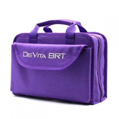 сумка для медицинского прибора с раскладкой и карманами сбоку