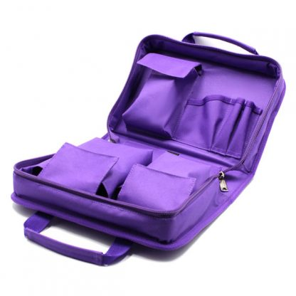 сумка для медицинского прибора с раскладкой и карманами карманы
