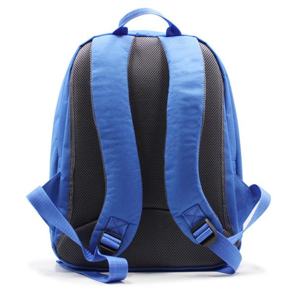 рюкзак городский синий для промо с логотипом сзади