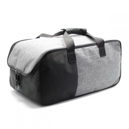 сумка для путешествий ручная кладь серая сверху