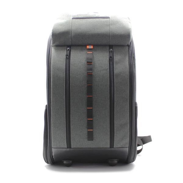 рюкзак для тахеометра серый большой спереди
