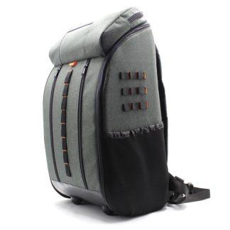 рюкзак для тахеометра серый большой сбоку