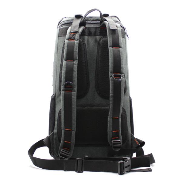 рюкзак для тахеометра серый большой сзади