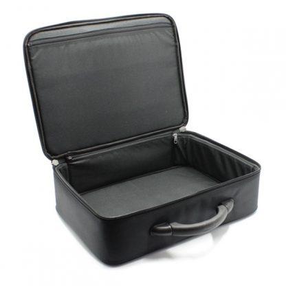 сумка кейс чёрный для хранения бумаг внутри