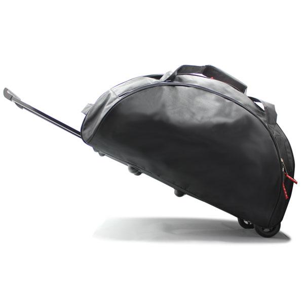 сумка колёсная спортивная для спортсменов чёрная ручка