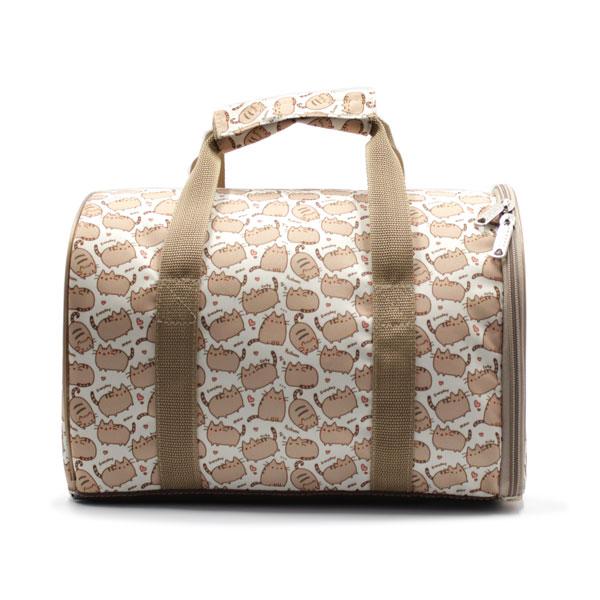сумка переноска для животных с принтом спереди
