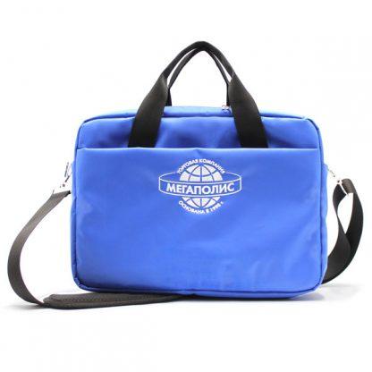 сумка портфель деловой для ноутбука и бумаг спереди