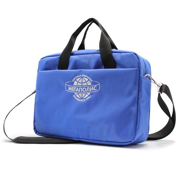 сумка портфель деловой для ноутбука и бумаг сбоку
