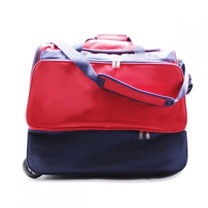 сумка колесная отделение для обуви спортивная Росссия спереди