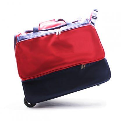 сумка колесная отделение для обуви спортивная Росссия без ручки
