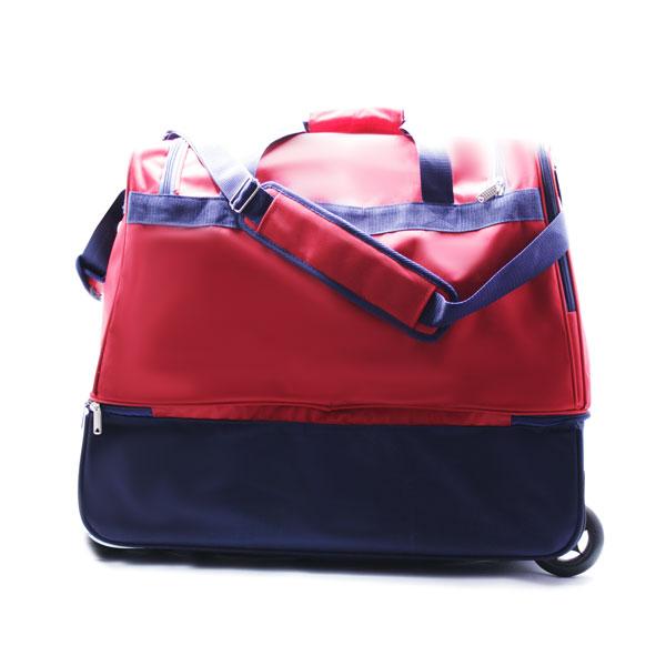 сумка колесная отделение для обуви спортивная Росссия сзади