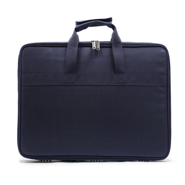 сумка папка для деталей большая синяя спереди