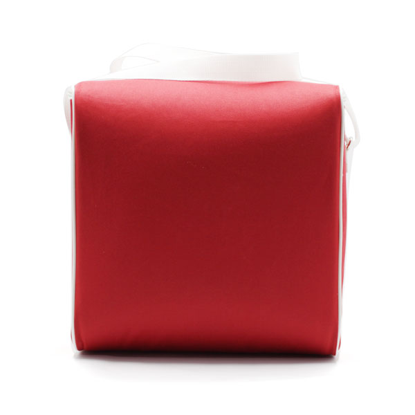 сумка холодильник стандартная красная сзади