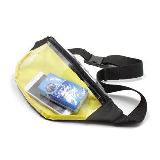 сумка на пояс из пленки прозрачная внутри