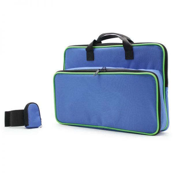 сумка чехол для прибора и ноутбука с напульсником сбоку
