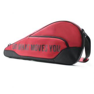 сумка чехол для ракетки с индивидуальным дизайном сбоку