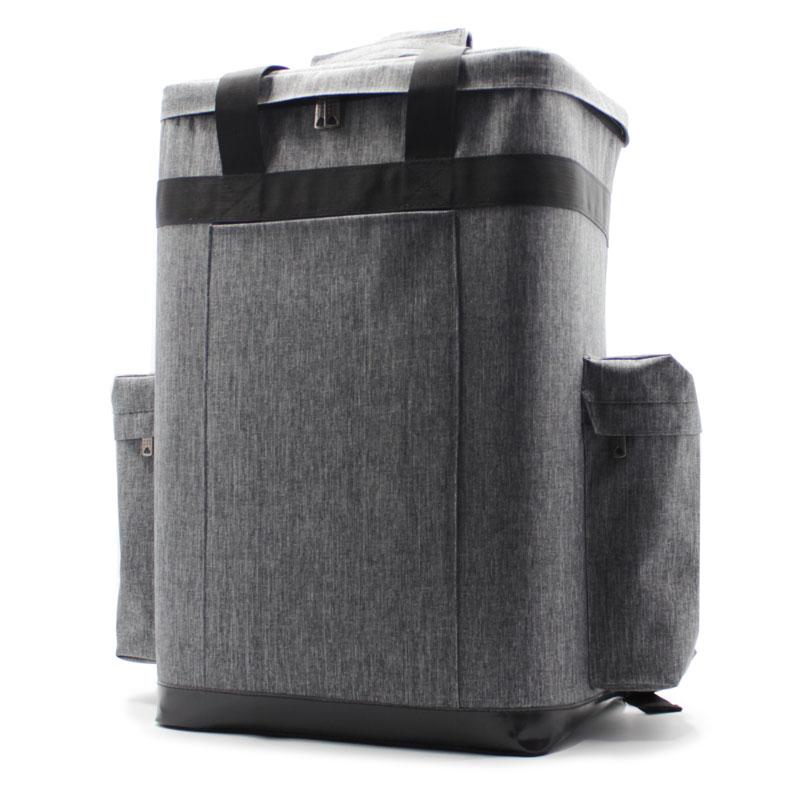 сумка для лазерного сканера геодезия серая большая P-31 сбоку