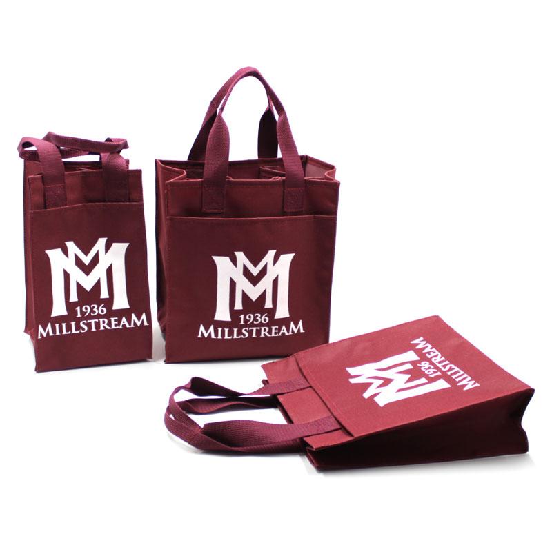 сумка органайзер для бутылок вина с логотипом