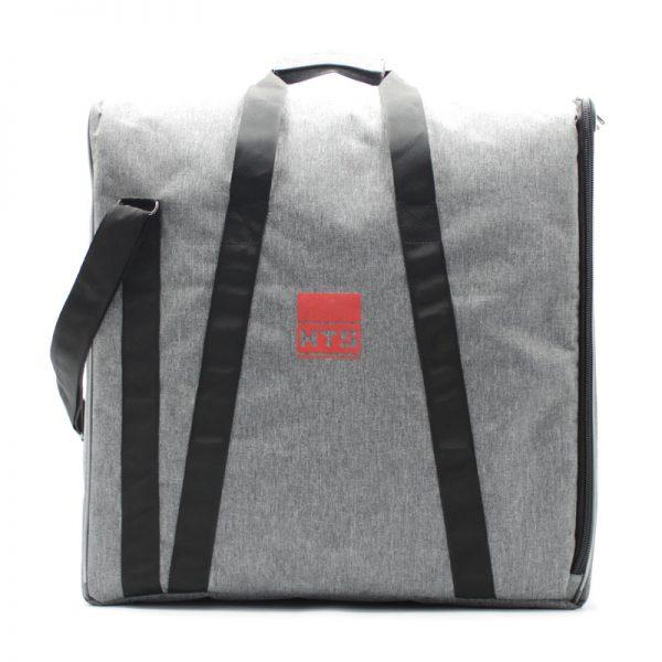 сумка плотная большая серая для прибора с боковым открытием с логотипом