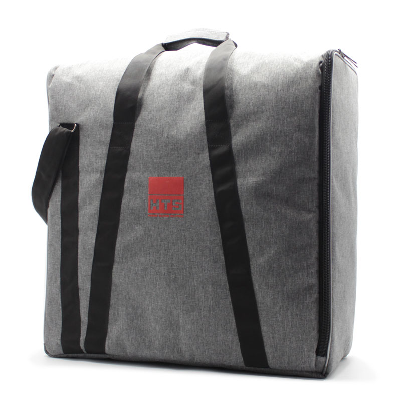 сумка плотная большая серая для прибора с боковым открытием сбоку