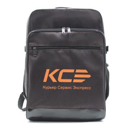 рюкзак большой для курьера для конвертов и бумаг А3 спереди