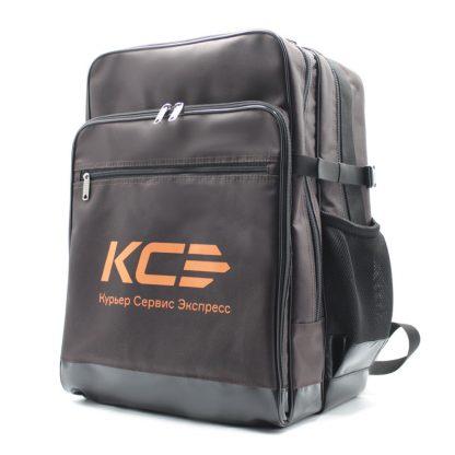 рюкзак большой для курьера для конвертов и бумаг А3 сбоку