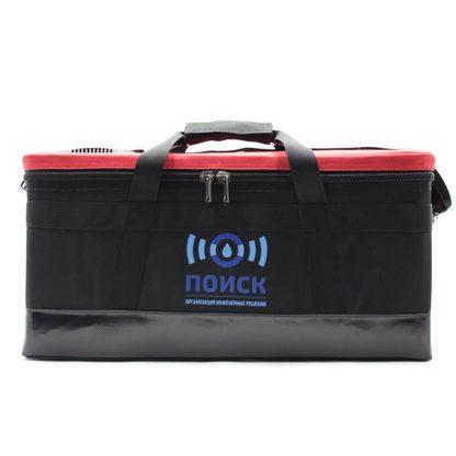 Комплект сумок для геодезического оборудования красная спереди