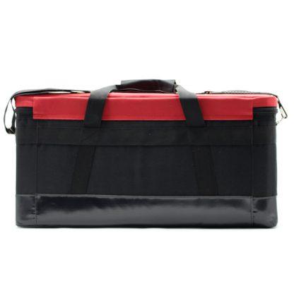 Комплект сумок для геодезического оборудования красная сзади