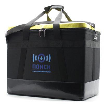 Комплект сумок для геодезического оборудования жёлтая сбоку