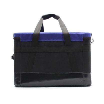 Комплект сумок для геодезического оборудования синяя сзади