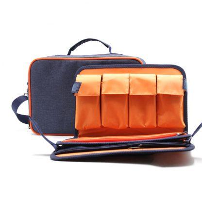 сумка органайзер для косметолога бьюти кейс с карманами
