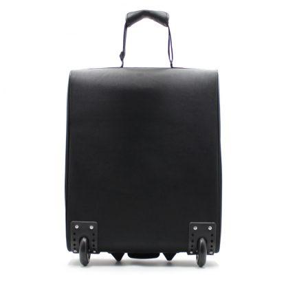 небольшая сумка на колесах сзади