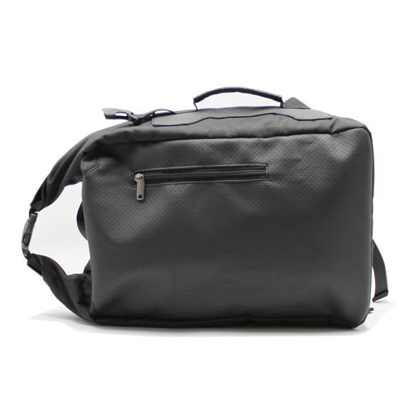 рюкзак повседневный городской спортивный мужской женский черный R-02 как сумка