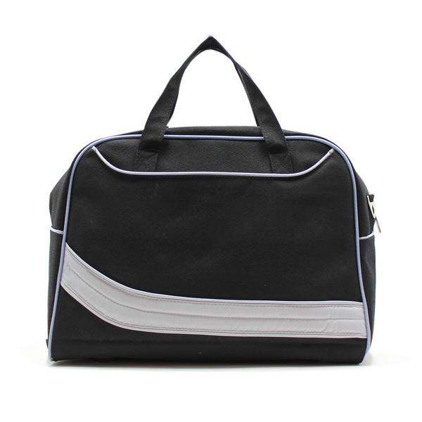 сумка городская дорожная фитнес самолет город универсальная небольшая черная спереди