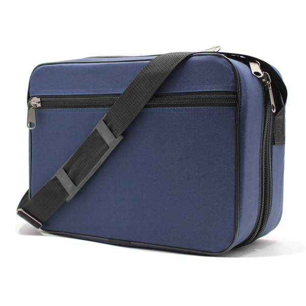 сумка медицинская для переноски приборы скорая помощь синяя спереди