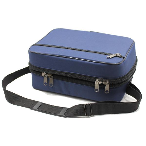 сумка медицинская для переноски приборы скорая помощь синяя сверху