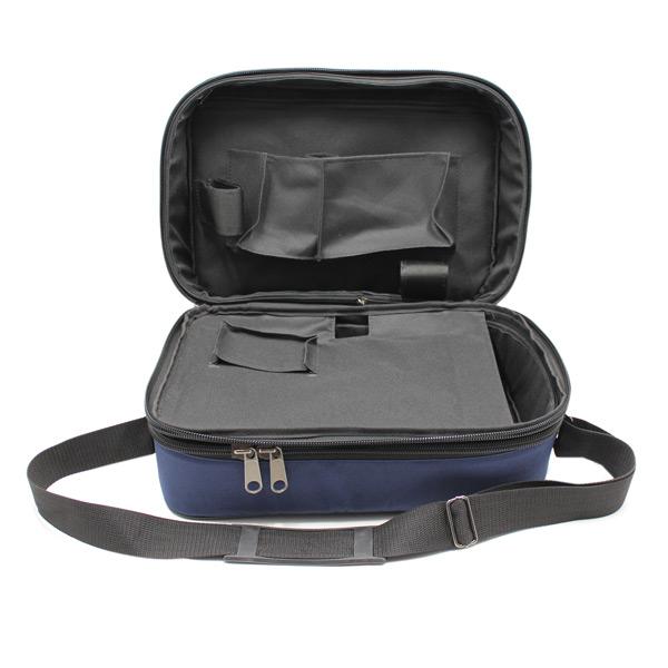 сумка медицинская для переноски приборы скорая помощь синяя карманы