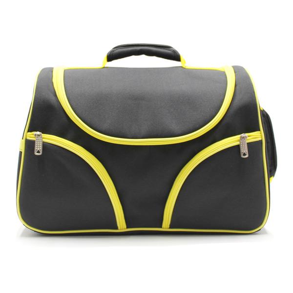 Сумка чемодан для визажистов и парикмахеров спереди