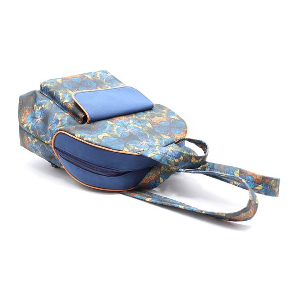 рюкзак дамский небольшой сумка принт сверху