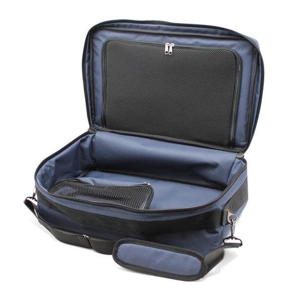 сумка медицинская для ингалятора синяя внутри