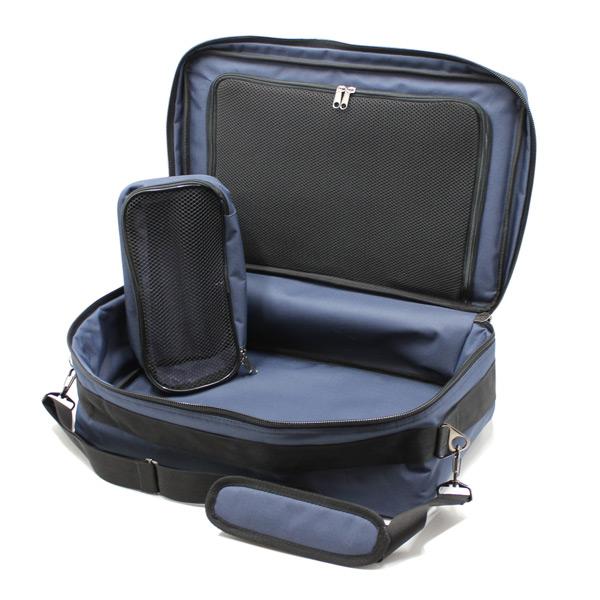 сумка медицинская для ингалятора синяя карман