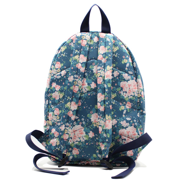 75/5000 Язык оригинала: русский рюкзак женский городской спортивный молодежный универсальный принт цветы сзади