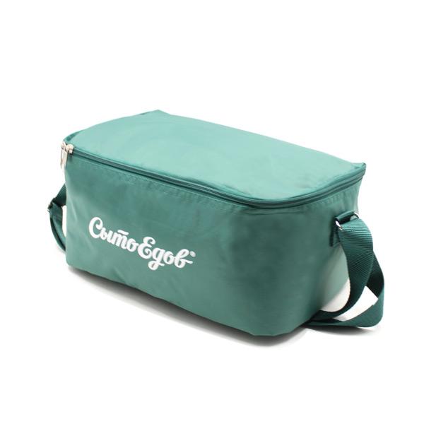 сумка холодильник промо для еды для обеда сверху