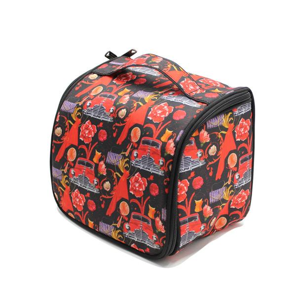сумка косметичка несессер дорожная принт авторский дизайн сверху